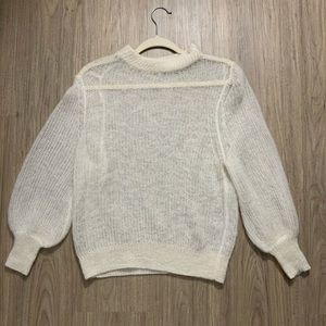 Margaret O'Leary Puff sleeve pullover